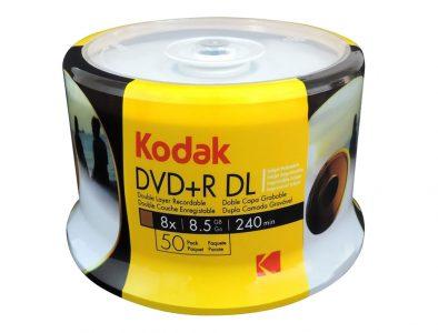 Dvd+r-Doble-Capa-marca-kodak-Torre-X-50-Unidades-8.5gb