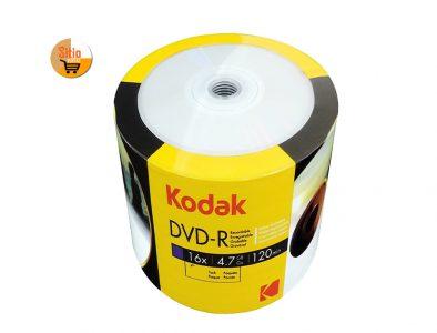 dvd-r kodak x100-unidades