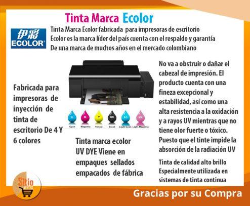 Tinta-Marca Ecolor-Para Impresoras-de-escritorio