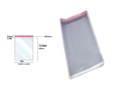 bolsa-de-celofan-con-solapa-adhesiva-8cm x17cm